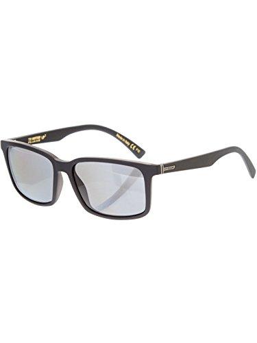 Occhiali Da Sole Polarizzati Von Zipper Pinch Nero Smoke Satin-Grigio Poly Polar (Default , Nero)