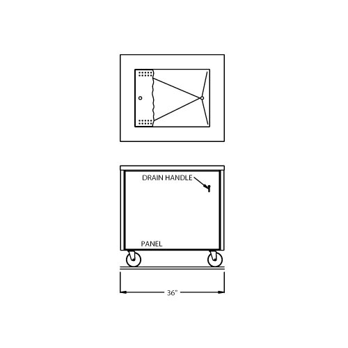 Counter Depth Refrigerator Dimensions front-259210
