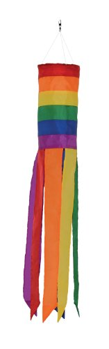 In the Breeze Rainbow Column Value Sock/Windsock, 24-Inch