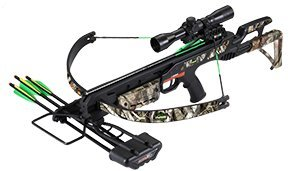 SA Sports Empire Terminator 260 FPS Crossbow, 175-Pound, Black/Camo
