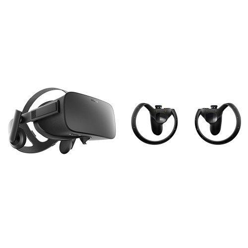 Oculus バーチャルヘッドセット+バーチャルコントローラー Rift + Oculus Touch Bundle [並行輸入品]