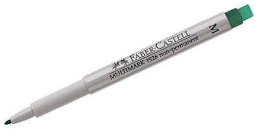 Faber-Castell Marqueur CD M non permanent MULTIMARK, vert