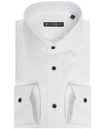 corneliani-regular-fit-camiseta-estampada-micro-blanco-uk17
