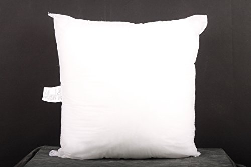 "Lowest Prices! Square Sham Pillow Insert 18x18""Made in USA"