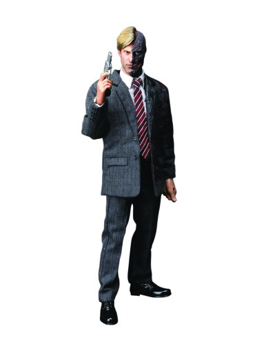 DC Comics Hot Toys' The Dark Knight: 1:6 Scale Two - Face/ Harvey Dent Figure