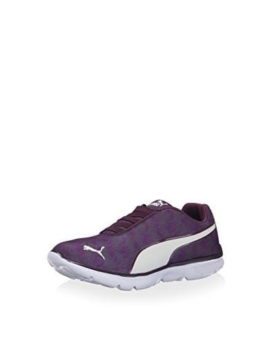 PUMA Women's Fashion Alt Sneaker  [Italian Plum/Whisper White]