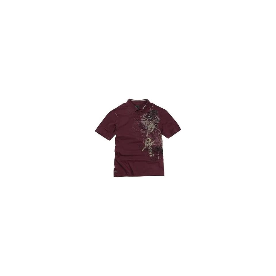Fox Racing Inked Polo   Large/Pomegranate