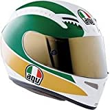 AGV T-2 GIACOMO AGOSTINI HELMET (X-LARGE) (WHITE/RED/GREEN)