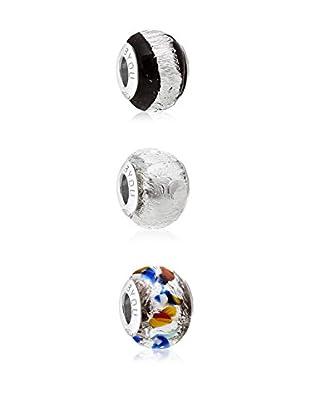 B•You Set charms x 3 BY005ST plata de ley 925 milésimas