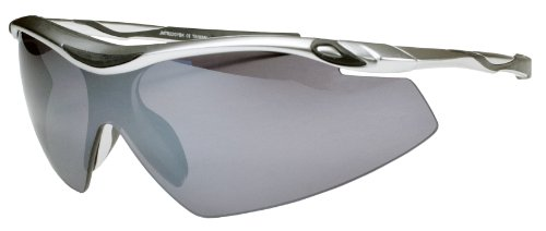 JiMarti Sunglasses TR22 Sport Wrap for Cycling, Ski or Golf Superlite TR90 Unbreakable (Gunmetal Grey)