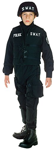 Boys - Swat Kids Costume Sm 4-6 Halloween Costume - Child 4-6