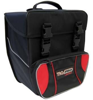 TAQ-PRO Einzeltasche schwarz/rot