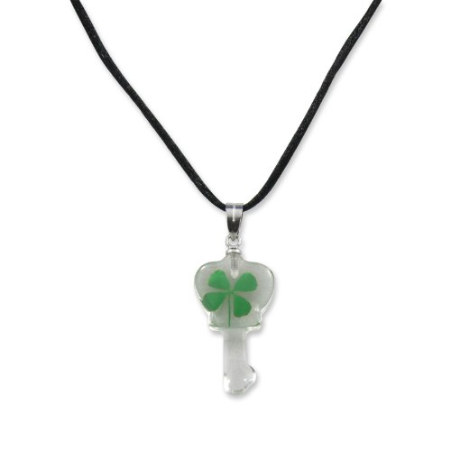 REALBUG Shamrock Necklace, Key shape