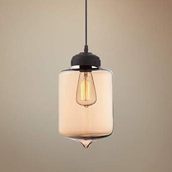 possini euro calico modern black amber glass pendant light. Black Bedroom Furniture Sets. Home Design Ideas