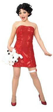 Betty Boop Costume - X-Small - Dress Size 2-6