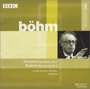 Schubert : Symphonie N° 2 - Brahms : Symphonie N° 2