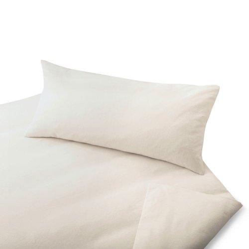 cotonea biber bio bettw sche natur 155x220 cm 40x80 cm. Black Bedroom Furniture Sets. Home Design Ideas