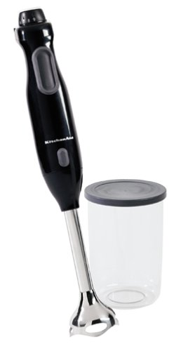 KitchenAid KHB100OB Hand Blender, Onyx Black