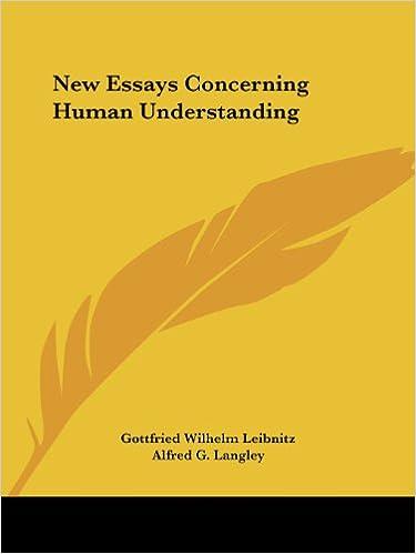 New Essays Concerning Human Understanding | work by Leibniz