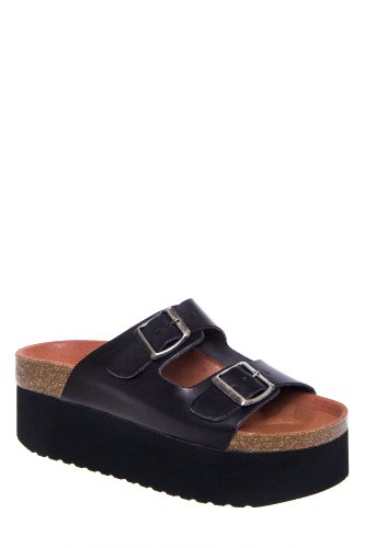 Sixtyseven by MTNG Indigo 75644 Low Heel Platform Slide Sandal
