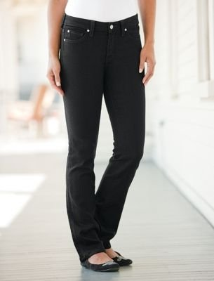Click to buy TravelSmith Women's Miraclebody Katie Straight Leg Jeans by Miraclesuitfrom Amazon!