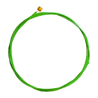 Aurora Acoustic Strings - Nitro Lime - Coated And Colored - 10-48