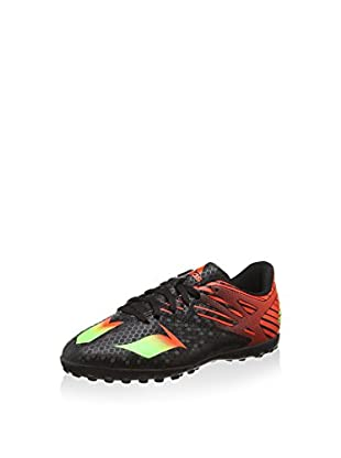 adidas Zapatillas de fútbol Messi 15.4 TF J (Negro / Rojo)