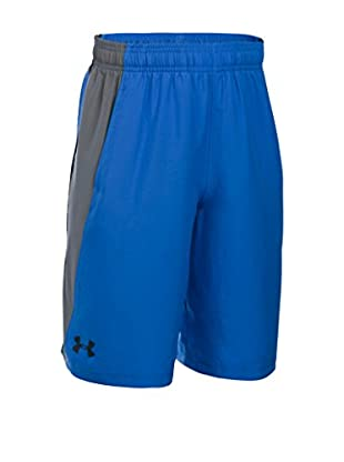 Under Armour Short Entrenamiento Skill Woven (Azul)
