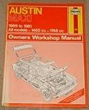 img - for Austin Maxi Owner's Workshop Manual (Service & repair manuals) book / textbook / text book