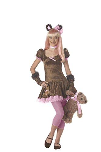 POPLife Honey Bear Teddy Tween Child Costume (Cute Clown Costumes For Tweens)