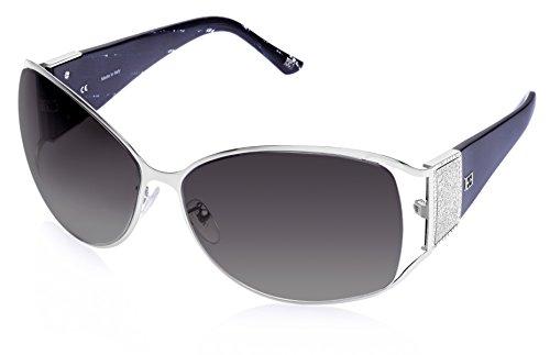 Escada Escada Oversized Sunglasses (Silver) (SES 778S|0579 CC|65)