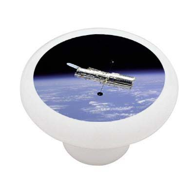 The Hubble Space Telescope Decorative High Gloss Ceramic Drawer Knob