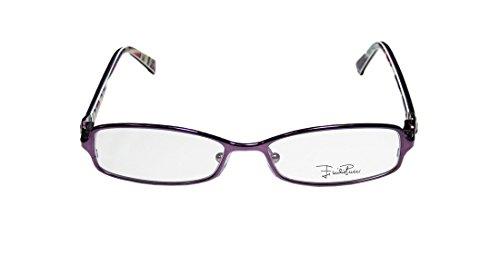 [Emilio Pucci 2130 Womens/Ladies Rx-able Designer Full-rim Eyeglasses/Spectacles (51-15-135, Dark] (Harvey And Donna Costume)