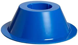 Bel-Art Scienceware 187950001 Polystyrene Single Tube Holder, Grip Style, Blue (Bag of 5)