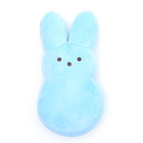 Perfectly Plush Peep Pillow - Blue