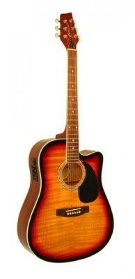 Kona Guitars Ksp1Cesb Special Series Cutaway Acoustic/Electric Guitar With 3-Band Eq