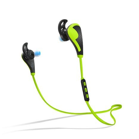 PLAY X STORE PLAY X STORE Wireless Bluetooth Stereo Earbuds Sweatproof In Ear Sports Headphones with Microphone Green