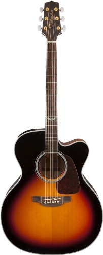 Takamine Gj72Ce-Bsb Jumbo Cutaway Acoustic-Electric Guitar, Sunburst
