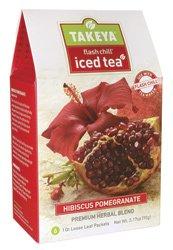 Hibiscus Pomegranate Whole Leaf Iced Tea Blend