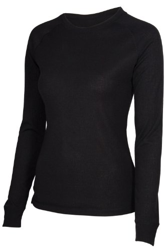 Mountain Warehouse Talus Womens Long Sleeve Round Neck Base Layer Top