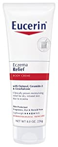Eucerin Body Creme, Eczema Relief, 8 Ounce