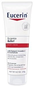 Eucerin Body Creme, Eczema Relief, 8 Ounce
