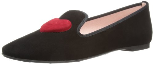 Pretty Loafers Womens Angelis Black/Rubi Loafers 42171 6 UK, 39 EU