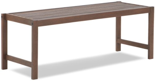 Strathwood Vashon Hardwood Dining Backless Bench