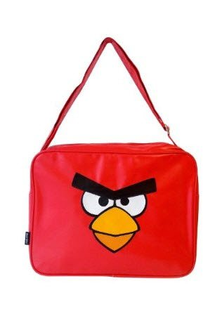 Angry Birds Premium Messenger Shoulder Bag - Red design
