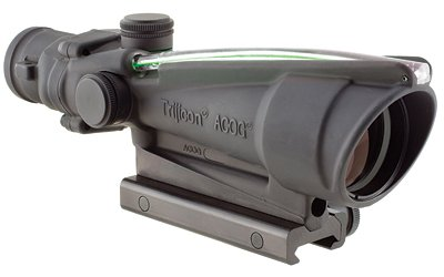 Acog 3.5X35 Dua Illuminated Chevron 223 Ballistic  Reticle Color: Green