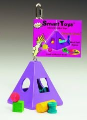 Buy Jungle Talk Pyramid Puzzle Large Bird Toy