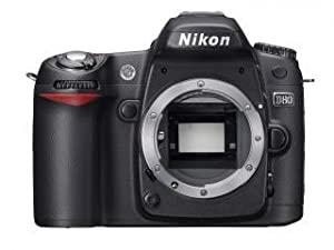Nikon D80 Digital SLR Camera (Body Only)