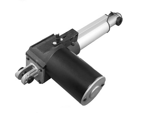 "Progressive Automations Linear Actuator Stroke Size 2"", Force 200 Lbs, Speed 0.94""/Sec - 12 Vdc"