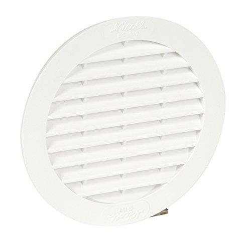 nicoll-1bc110-grille-ronde-avec-moustiquaire-tuyau-oe-100